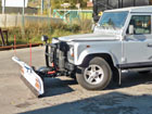 Lame Blizzard LT720 sur Land Rover